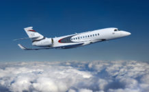 Le Falcon 5X pourra relier sans escale New York à Moscou, Johannesburg à Genève, Hong Kong à Moscou, Londres à Miami, Sao Paulo à Chicago ou encore Shanghai à Sydney.