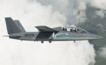 Le biréacteur militaire Scorpion de Textron - Airland est présenté pour la première fois au salon du Bourget