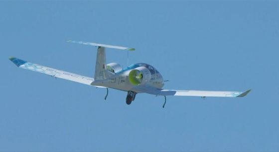 L'E-Fan atteint les 3.500 pieds pour voler en croisière à la moyenne de 145 km/h