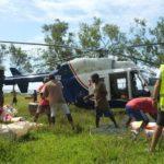 BK-117 en intervention au Vanuatu