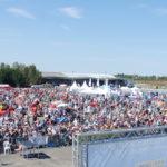 Sur l'ensemble des 10 jours de compétition, l'aéroport de Châteauroux-Déols a accueilli 100.000 spectateurs. Du jamais vu pour le championnat du monde de voltige