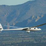 Le planeur stratosphérique Perlan 2 lors de son premier vol