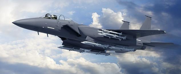 Vue d'artiste du F-15C 2040