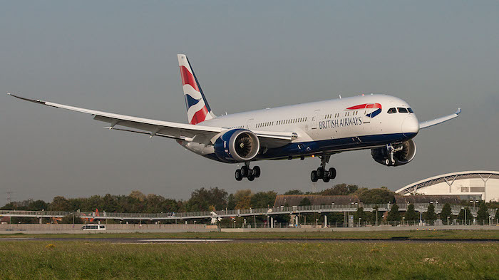L'arrivée du premier 787-9 de British Airways à Londres-Heathrow