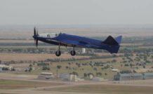 La réplique du Bugatti 100P a effectué un second vol sans encombre le 17 octobre 2015