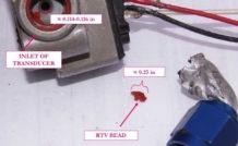 Le capteur de fuel-flow du RV-10 accidenté était obstrué par un résidu d'une pâte à joint inadaptée.