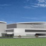 Vue d'ensemble des futures installations de Dassault Falcon Service à Bordeaux-Merignac