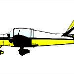 Le deuxième prototype de MS 880B était équipé d'une verrière moins globuleuse que le premier.
