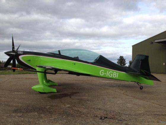 Après deux ans de travail, le GB-1 a effectué son premier vol en juillet dernier