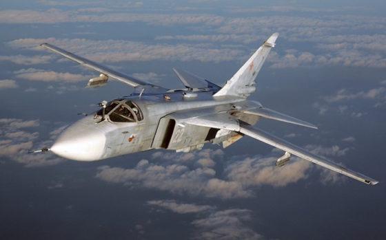Su-24 des forces aériennes russes