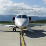 La distance maximale de franchissement du Legacy 450 d'Embraer est récemment passée de 2.575 NM à 2.900 NM