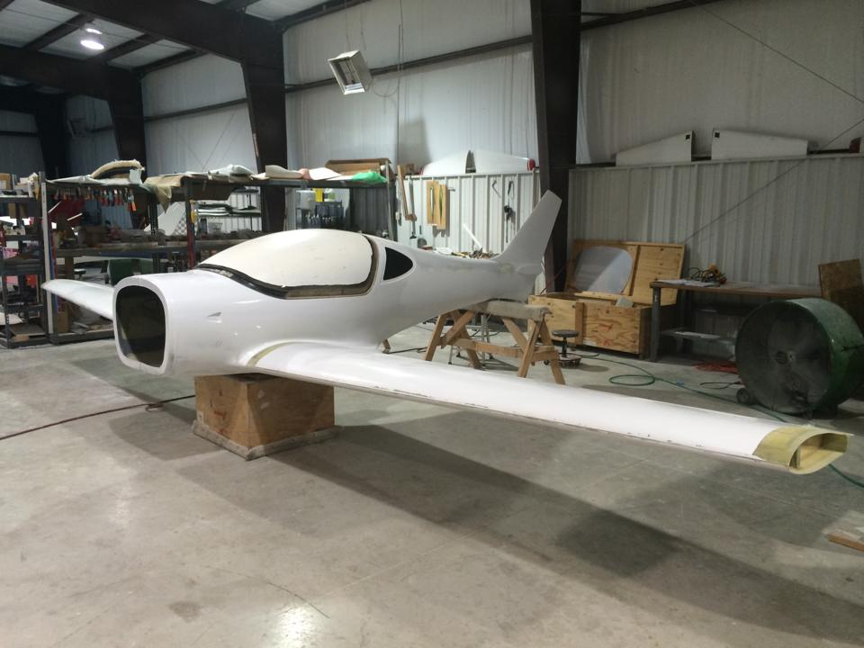 Le prototype du Sun Flyer a été assemblé en novembre 2015