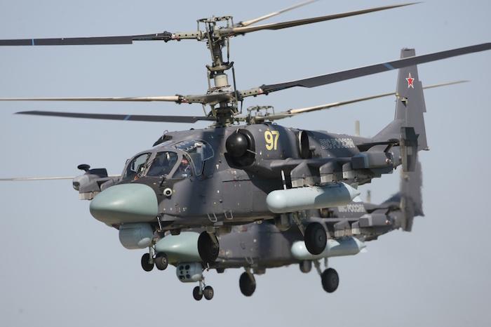 L'hélicoptère russe Ka-52K Alligator de Kamov armera les Mistral égyptiens