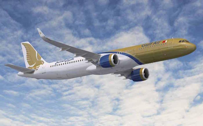 A321neo aux couleurs de Gulf Air