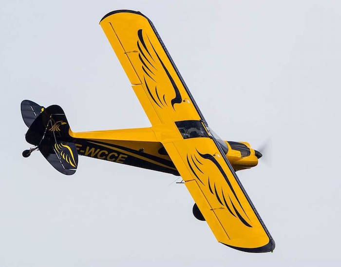 Conçu par la firme américaine Cubcrafters, le Carbon Cub est distribué en kit en France par Horus Aero