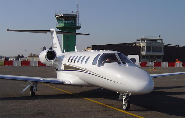 Le Citation CJ2+ est équipé de deux moteurs Williams FJ44-3A-24 (2.490 lb de poussée unitaire)