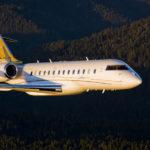 Grande cabine et longues jambes, le Global 5000, l'un des fleurons de la gamme avions d'affaires de Bombardier