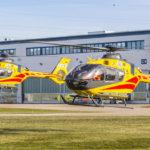 Les H135 du secours aérien polonais LPR ont été réceptionnés à l'usine Airbus Helicopters de Donauwörth (Allemagne)
