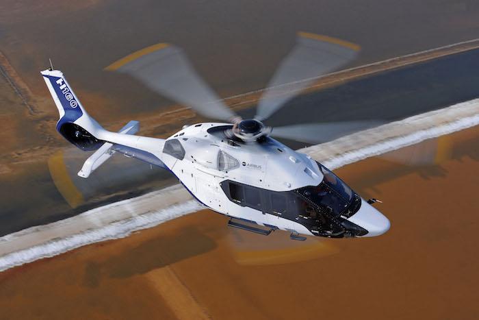2016 verra le début de la commercialisation du H160 le successeur du Dauphin