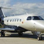 Le biréacteur d'affaires Legacy 450 d'Embraer a fait ses débuts opérationnels en 2015