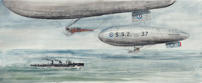 Sea Scout, Coastal et North Sea, les dirigeables souples de la Royal Navy