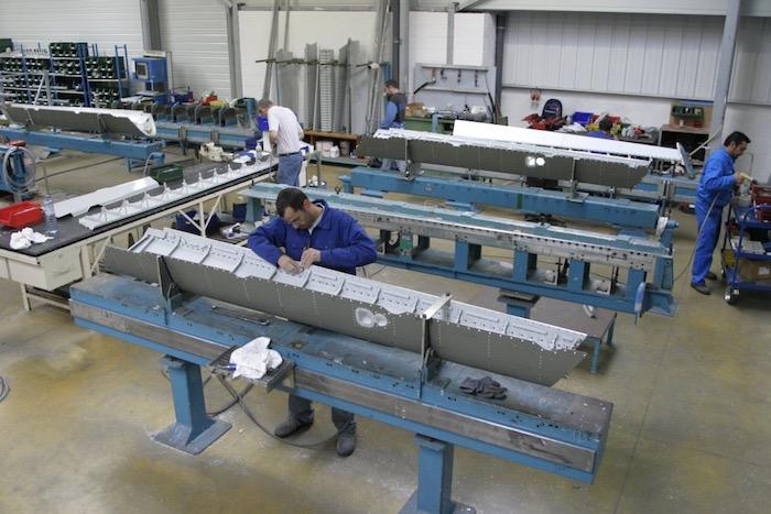 Serta s'est orienté récemment sur la fabrication de pièces et sous- ensembles pour les aérostructures