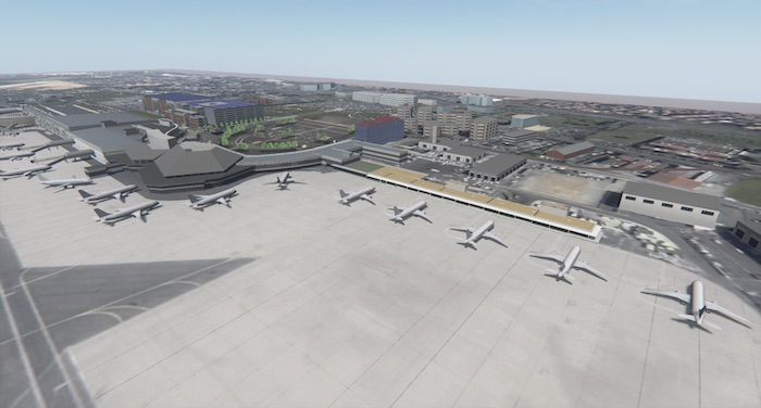 La nouvelle jetée de Toulouse-Blagnac destinée au trafic low cost et régional sera mise en service au printemps 2018