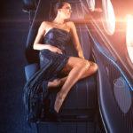 Yasava privilégie les matériaux de luxe pour l'aménagement de sa première cabine