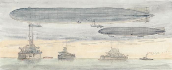 Zeppelin 2, l'offensive de bombardement stratégique