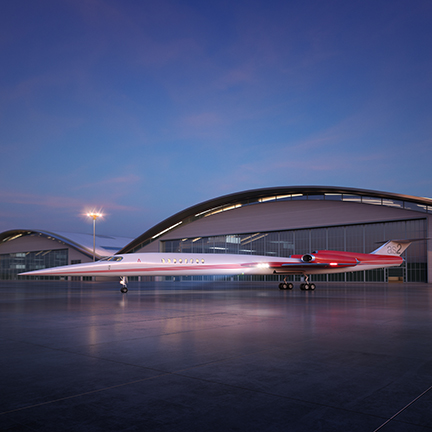 Brian Barentz, l'ancien PDG de Learjet, a apporté sa caution au projet de jet supersonique AS2 d'Aerion avant qu'Airbus Group s'intéresse au projet