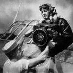 Imageur F56 sur une publicité Bausch & Lomb de 1945