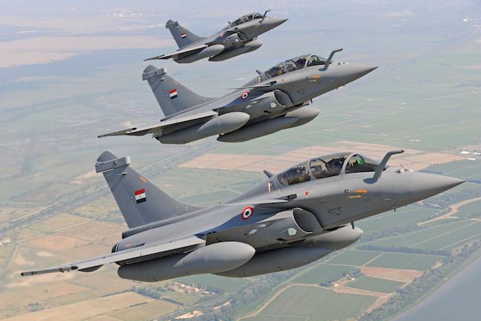 Dassault est sur le point de livrer trois autres Rafale à l'Egypte début 2016