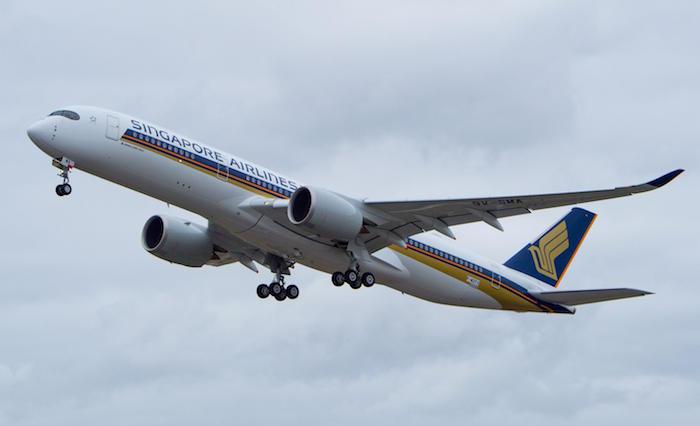 Le premier A350-900 de Singapore Airlines pourrait être l'une des vedettes du prochain salon aéronautique de Singapour qui ouvrira ses portes le 16 février 2016/