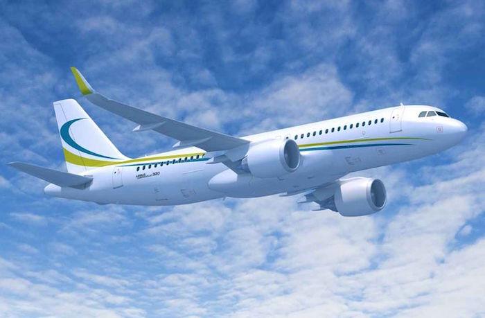 L'ACJ320neo peut transporter 25 passagers sur plus de 6.000 NM (11.000 km). Il a une autonomie de 13 heures de vol.