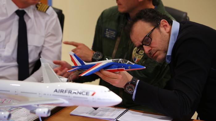 Eric Magnan, le réalisateur du film de 3'30 à la gloire du 747 d'Air France