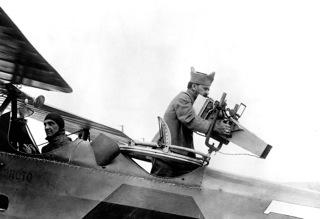 Imageur aérien fixe sur un Breguet XIV