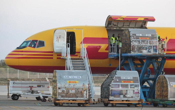 En 2015, le volume de fret aérien de l'Aéroport de Bordeaux a augmenté de +16,2% soit 9.770 tonnes