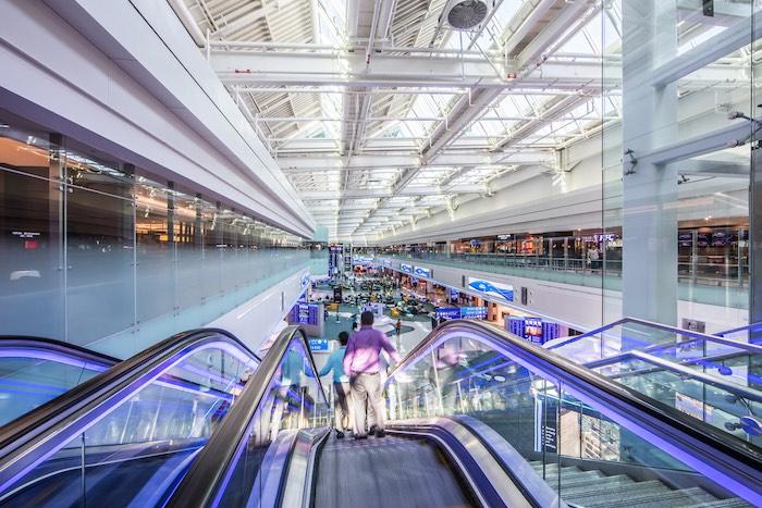Pour l'aéroport de Dubai, le Hall D représente un investissement de 1,2 milliard de dollars.