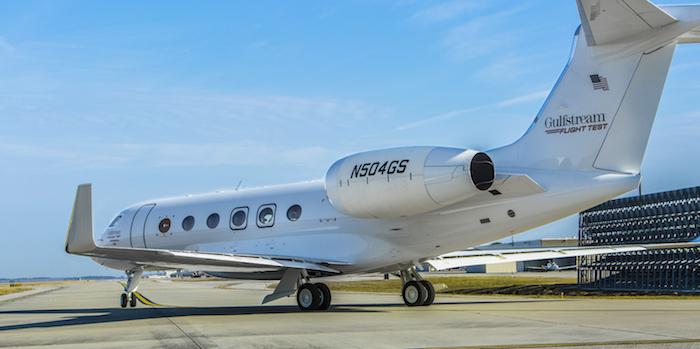 Le Gulfstream G500 est propulsé par deux moteurs Pratt&Whitney Canada PW814GA (15.144 lb de poussée unitaire)