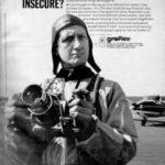 Publicité Graflex parue en juillet 1967 dans le magazine Popular Photography