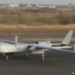 Drone MALE Harfang de l'escadron de drones 1/33 « Belfort »