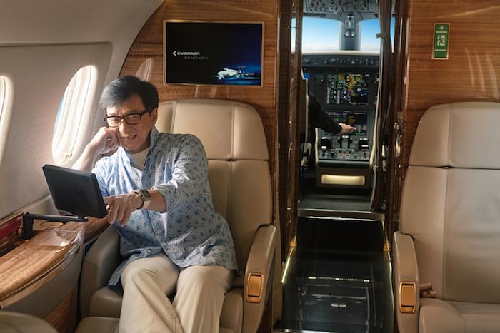 Le Legacy 500 a une autonomie de 3.125 NM soit 5.788 km avec 4 passagers à bord.