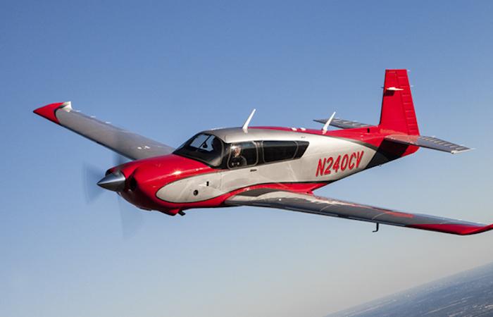 Le fuselage du nouveau Mooney est drapé de composite pour renforcer la sécurité passive des occupants.