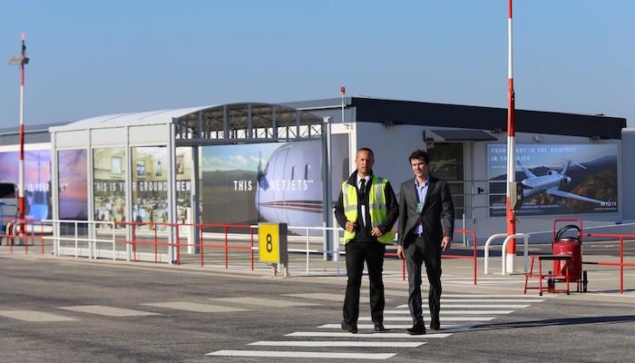 Le nouveau terminal hélicoptères de l'aéroport Nice-Côte d'Azur