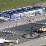 Les passagers de l'héliport de Nice-Côte d'Azur ne peuvent pas passer à côté de NetJets