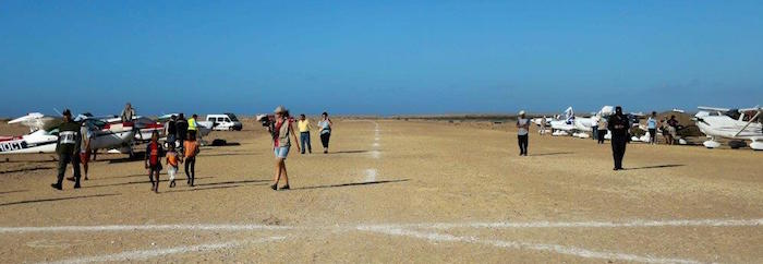 La piste de Tarfaya, passage obligé pour le Raid Latécoère depuis 2007