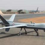Drone MQ-9 Reaper Harfang de l'escadron de drones 1/33 « Belfort »