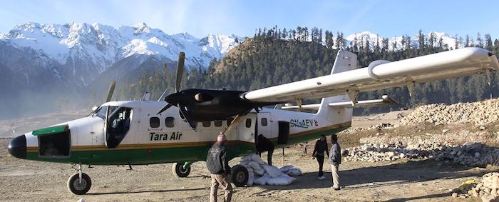 Tara Air dessert les localités retirées du Népal