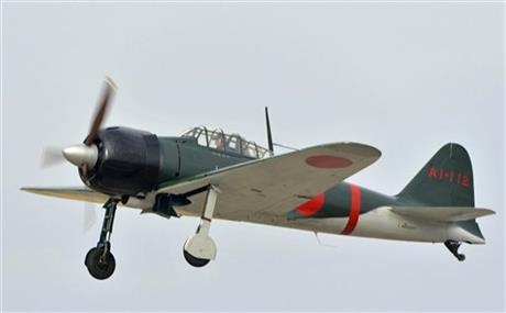 Un Mitsubishi A6M Zero modèle 22 a effectué un vol de test fin janvier au Japon