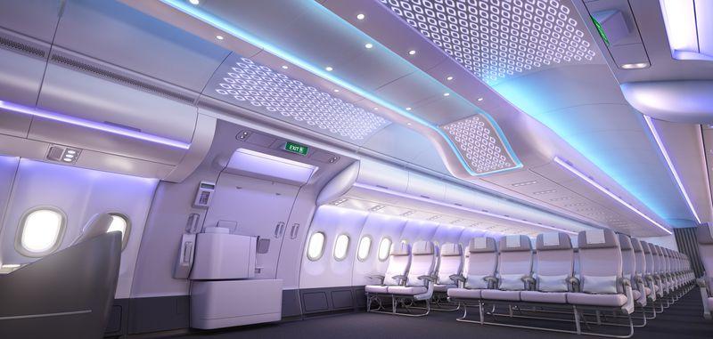 airspace by airbus ou le nouveau concept de cabine des. Black Bedroom Furniture Sets. Home Design Ideas